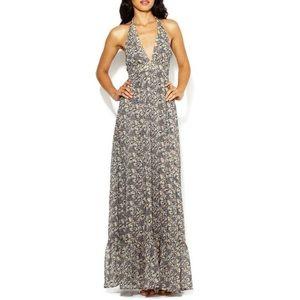 Karen Zambos Vintage Couture Halter Maxi Dress